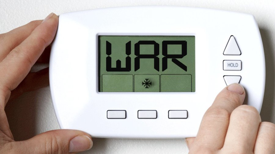 Thermostat Wars:  Life's Too Short To Be…Cold!