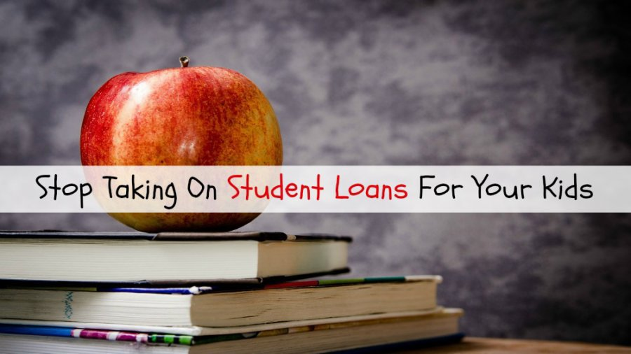 Apple and school books - student loan