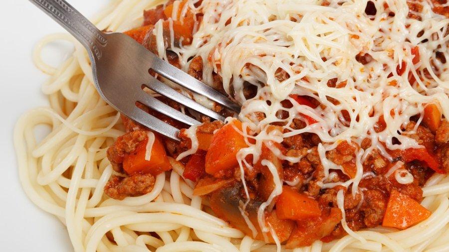 spaghetti - frugal eats