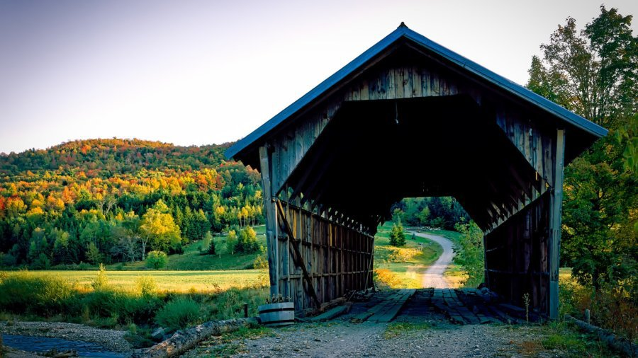 Covered bridge - fall dates